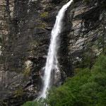 Der Wasserfall als Namensgeber - Tiro Cascata