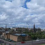 Blick aufs moderne Stadtzentrum