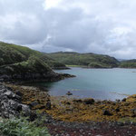Schöne Buchten in Schottland