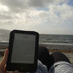Lesepause am Meer :-)