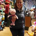 Winnie Pooh hat uns sein Ferkel gegeben :-)