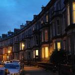 Die Straßen rund ums Hostel