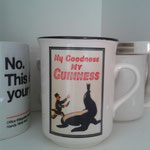 Eine alte Guiness-Tasse :-)