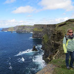 Vor den Cliffs of Moher