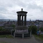 Ausblick von Calton Hill auf die City