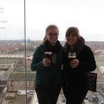 Tolle Aussicht auf ganz Dublin im Skytower