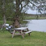 Lauschiges Plätzchen am Loch Borallan