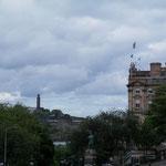 Blick auf Calton Hill