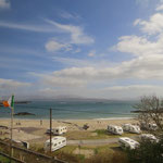 Ein Campingplatz direkt am Atlantik - wie wär's Familie? :-)