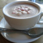 Hot Chocolate mit mini Marshmallows