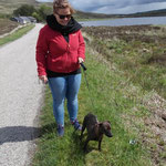 Spaziergang  mit Pip
