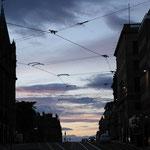 Streets of Edinburgh by Night