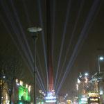 Lichtshow an der O'Conell Street