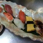 にぎり寿司盛り 1340円
