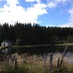 Vers le lac de Montcineyre