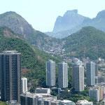 Favela panoramica vista mare