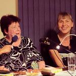 Angelika Svensson im Gespräch mit dem Publikum