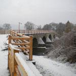 auch in Burgau ist noch Winter