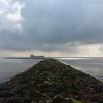 Kugelbakehafen am Weltschifffahrtsweg