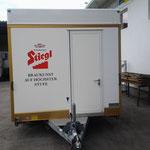 Schankwagen Stiegl 2ltg inkl. Kühlschrank