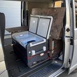Zusatzmodul Transporter, Integration von Dometic CFX 75