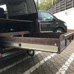 TRAVEL-SLEEP-BOX für den Multivan Schubladenlänge 1,20m mit 180kg Last