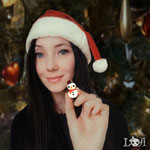 Kawaii Christmas Snowman Necklace