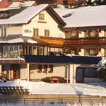 Todtnauberg im Winter, Hotel- Pension Enzian Todtnauberg