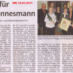 Kirchenchor Meggen, Bericht zur Generalversammlung 2011