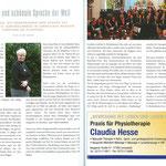 Kirchenchor Meggen, Vorstellung im Woll-Magazin Winter 2015