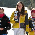 1. Rang Katrin Hinterholzer, 3. Rang Magdalena Schwaiger / Bildquelle Sylvia Pöll