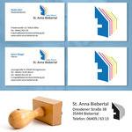 Visitenkarten und Stempel - Kath. Pfarrei St. Anna Biebertal