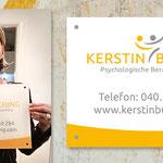 Firmenschild für Kerstin Busching Psychologische Beratung | Coaching