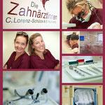 Zahnärzinnen Claudia Lorenz-Schütze & Susanne Rautenberg (Zahnärtliche Gemeinschaftspraxis in Hamburg-Eimsbüttel)