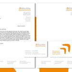 Briefbogen und Visitenkarte für Rita Alte | Organisationsberatung