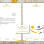 Briefbogen und Visitenkarte für Kerstin Busching Psychologische Beratung | Coaching