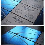Visitenkarte für Devant Design | Kommunikation . Marketing . Design