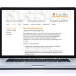 Webdesign Rita Alte | Organisationsberatung