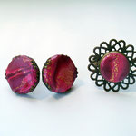Комплект (кольцо+серьги-гвоздики). Стоимость 300 руб