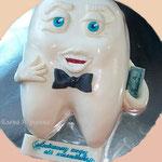 Торт для стоматолога, вес 2,3 кг