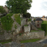 Rue Porte de Normandie, Domfront, Normandie, Orne