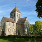 L'église Notre-Dame-sur-l'Eau, Domfront, Normandie, Orne