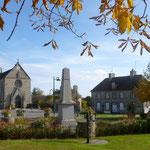 Le quartier de Saint-Front, Domfront, Normandie, Orne