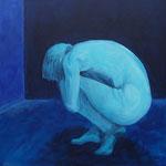 Ängste der Nacht, 50 x 50 cm