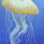Bewohner der Meere, 1m x 50 cm