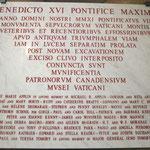 ヴェネディクト16世のお言葉。