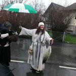 All der Regen kann dem HuiBuh nichts anhaben