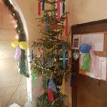 Unser improvisierter Narrenbaum