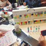 カラーセラピー色の意味を学ぶ勉強会「ブルー&パープル(インディゴ)」