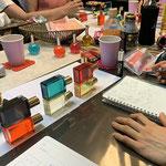 インディゴやパープル色の意味の勉強会